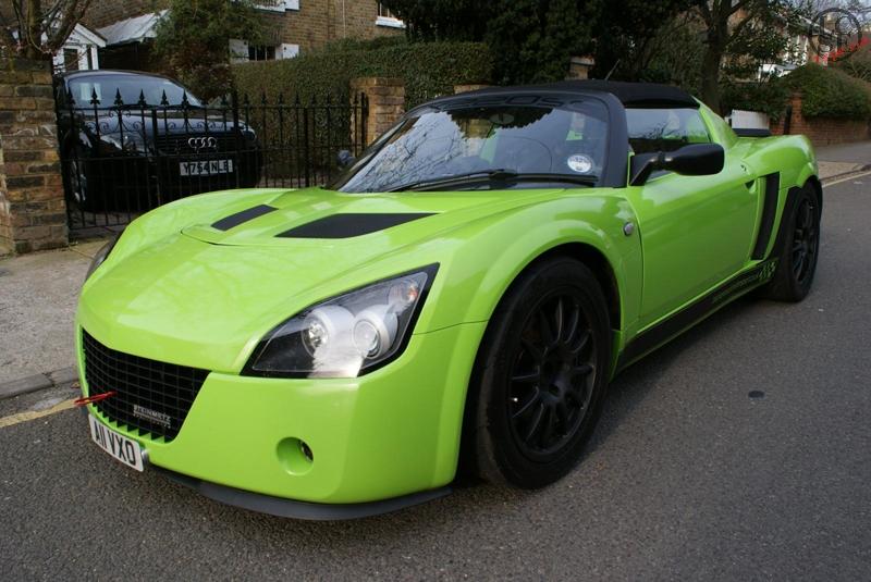 Vx220 Speedster Krypton Green